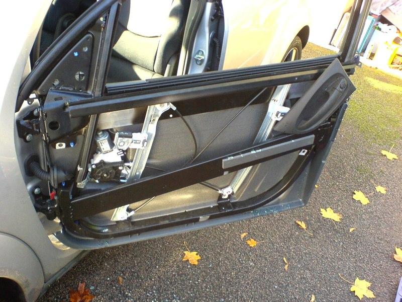 smart forfour 454 ajtó szétszedése leírás útmutató kép