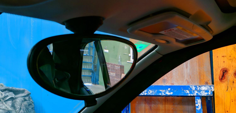 smart fortwo 450 belső tükör eltávolítása leszedése útmutató leírás