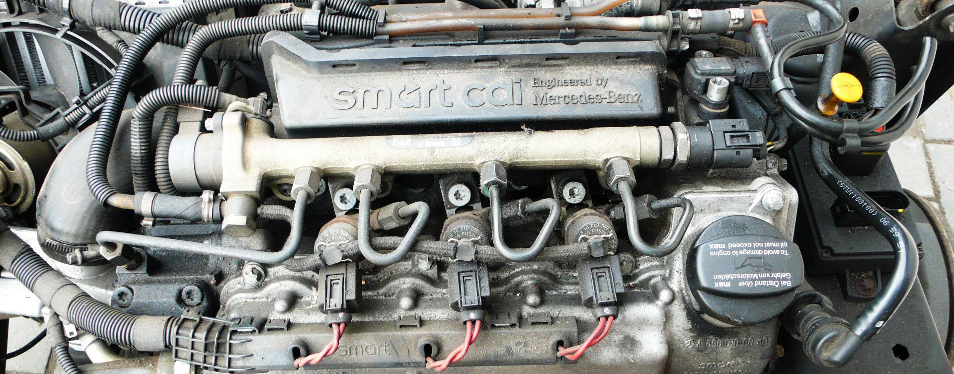 smart fortwo 450 cdi diesel blokk motor kiszerelése útmutató leírás