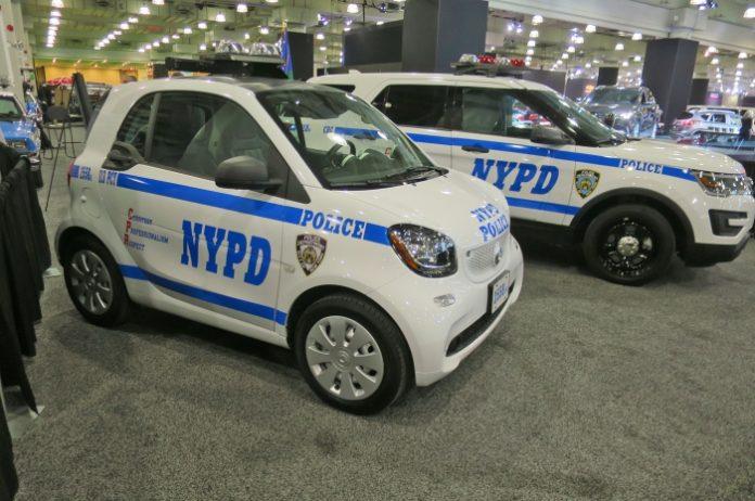 smart rendőrautó